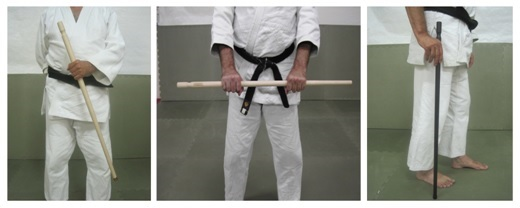 Three New Canes for Martial Arts Training